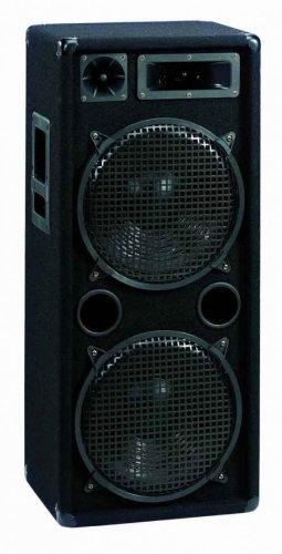 Omnitronic DX-2222 Enceinte 3 voies 1000 watts Noir (Import Allemagne)