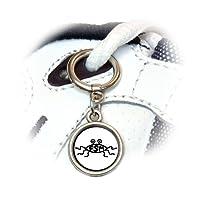 Flying Spaghetti Monster Shoe Sneaker Shoelace Charm Decoration