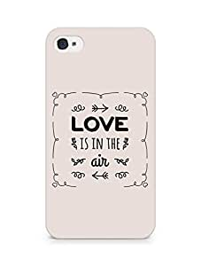Amez Love is in the Air Back Cover For Apple iPhone 4s