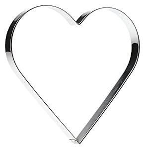 SVEICO 939701-1 Heart Shaped Cookie Cutter, 20cm