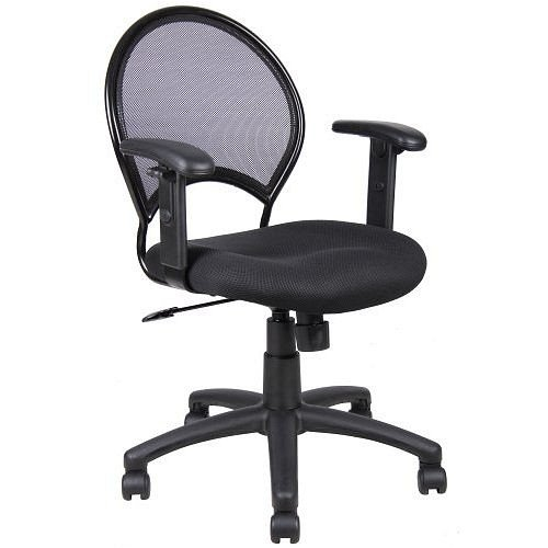 Black Budget Mesh Back Office Task Chair
