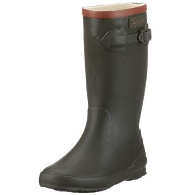 Aigle Unisex-Child Perdrix Wellington Boots, Khaki, 1 UK