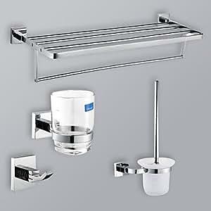 Accessoire chrome salle de bains finition mis avec porte for Porte 24 pouces