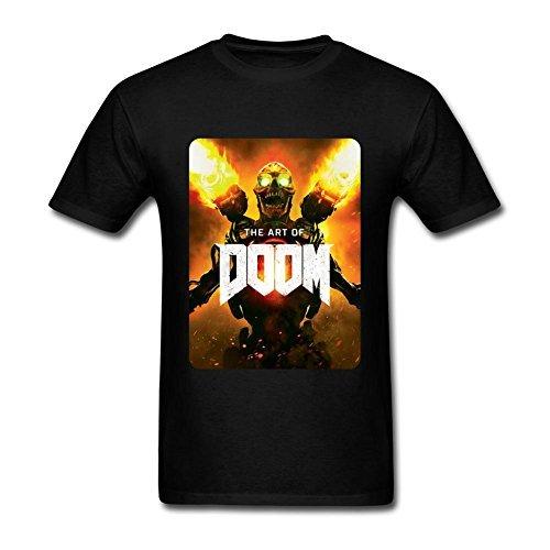 DOOM 2016 Video Game Art T Shirt For Men