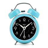 Modern Fashion Lovely Colorful Metal Alarm Clock Blue Sky 817