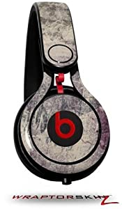 Pastel Abstract Gray and Purple Decal Style Skin (fits genuine Beats Mixr Headphones - HEADPHONES NOT INCLUDED)
