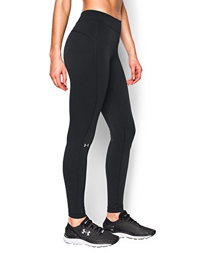 Under Armour Women's HeatGear Armour, Black (001), Large