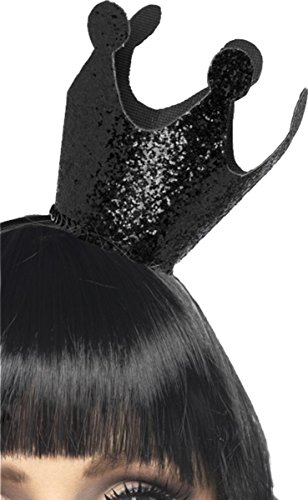 Women Halloween Fancy Dress Snow White Evil Queen Crown Black Pack Of 3 (Evil Queen From Snow White Costume)