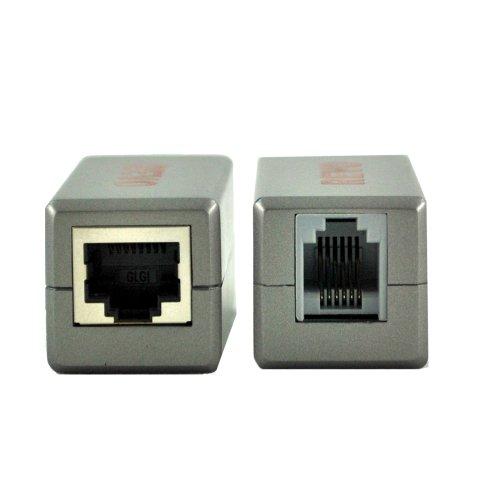 revo-america-rrj12rj45bln-rj12-to-rj45-adapter-grey
