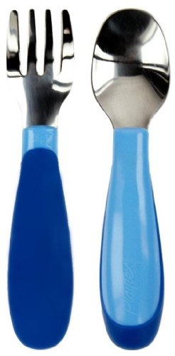 Playtex Mealtime Toddler Utensils Set (Colors may vary)