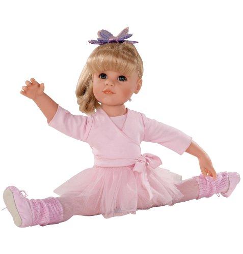 Gotz 1259059 Hannah at the ballet, 50 cm, blond hair, blue eyes, 15-pieces