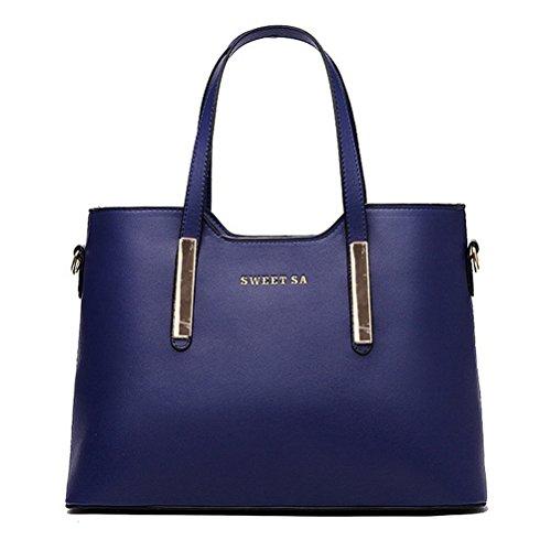 Color-Scissor-Women-Leather-Shoulder-Bags-Top-Handle-Handbag-Tote-Purse-Bag