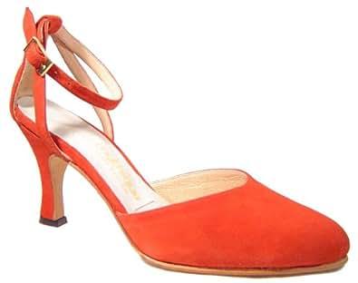 Mythique Women's Tango Ballroom Salsa Latin Leather Dance Shoes Maria