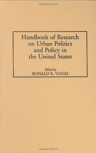 Handbook of Research on Urban Politics and Policy