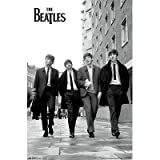 (22x34) The Beatles Street Music Poster