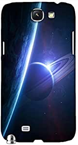 Timpax protective Armor Hard Bumper Back Case Cover. Multicolor printed on 3 Dimensional case with latest & finest graphic design art. Compatible with Samsung Galaxy Note II N7100 Design No : TDZ-28073