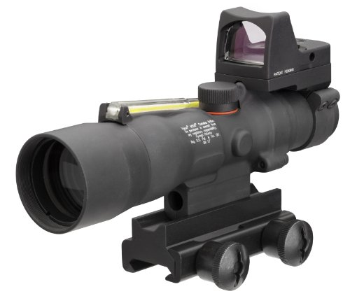 Acog 3 X 30 Scope Dual Illuminated 4.0Moa Horseshoe/Dot .223 Ballistic Reticle, Amber