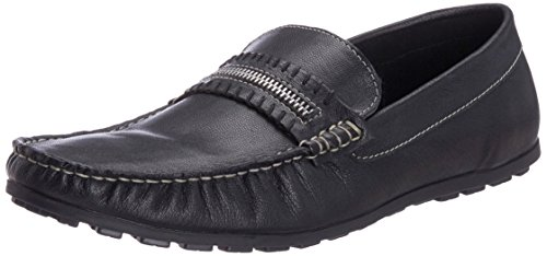 Famozi Famozi Men's Leather Loafers And Mocassins (Multicolor)