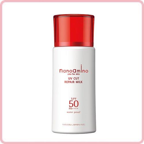 ニューウェイジャパン ナノアミノ UVカット リペア ミルク 50
