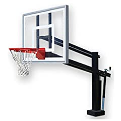First Team Hydroshot III Swimming Pool Basketball Hoop with 54 Inch Acrylic Backboard by First Team