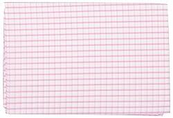 Birla Century Men's Shirt Fabric (White and Pink)