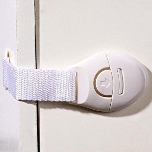 Vanki Baby Kids Child Toddler Safety Door Lock Fridge Drawer Toilet Cupboard Cabinet (2pcs)