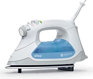 Oliso TG-1000 Steam Iron Auto-Lift System with Stainless Steel Soleplate
