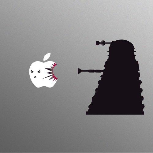 Dr Who Dalek Stil Aufkleber Sticker
