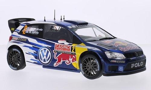 VW-Polo-R-WRC-No2-Red-Bull-FIA-World-Rally-Championship-Rally-Monte-Carlo-2015-Modellauto-Fertigmodell-Norev-118