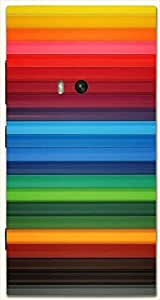 Stunning multicolor printed protective REBEL mobile back cover for Nokia Lumia 920 D.No.N-L-13979-N920
