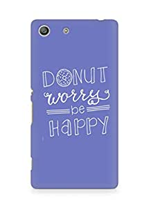 AMEZ donut dont worry be happy Back Cover For Sony Xperia M5