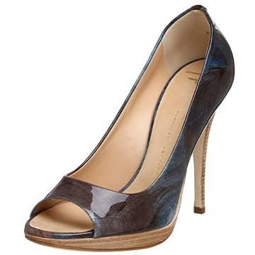 Giuseppe Zanotti Women's E96180 Open Toe Platform