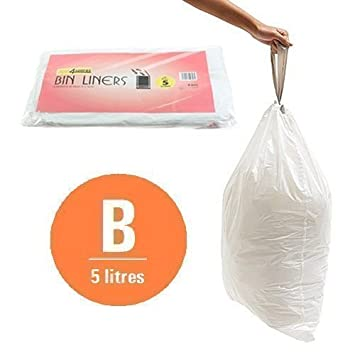 sacs poubelle first4spares taille taille b pour poubelles brabantia x x 120 cuisine maison. Black Bedroom Furniture Sets. Home Design Ideas