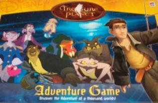 Disney Treasure Planet Adventure Game - Buy Disney Treasure Planet Adventure Game - Purchase Disney Treasure Planet Adventure Game (Milton Bradley, Toys & Games,Categories,Games,Board Games,Action Games)