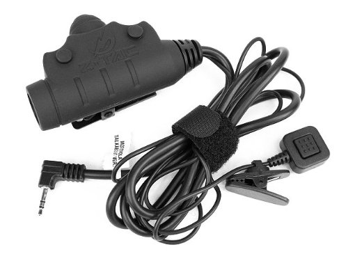 Airsoft Z Tactical U94 New Ver. Headset Cable & Ptt F/Motorola Talkabout