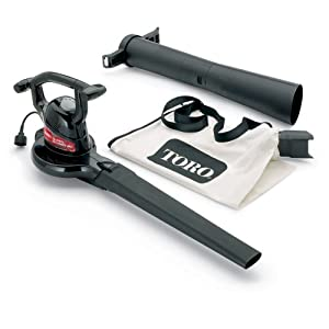 Toro 51592 Super 12 amp 2-Speed Electric Blower/Vacuum (Discontinued by Manufacturer)