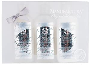 Manufaktura Home Spa Dead Sea Luxury Miniatures Gift Pack, (3*80ml)