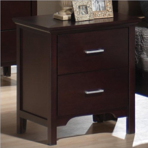 Bedside Table With Drawers 7062 front
