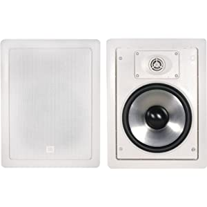 JBL SP8II 2-way, 8-Inch In-Wall Speaker with Swivel Mount Tweeter (Pair)