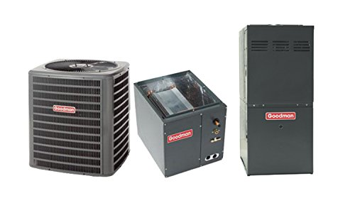 Goodman 3 Ton 13 SEER AC with 100 000 BTU 92%AFUE Downflow Gas Furnace GCSS921005CNGSX130361 (Furnace Downflow Electric compare prices)