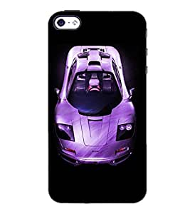 PrintDhaba Car D-4393 Back Case Cover for APPLE IPHONE 4S (Multi-Coloured)