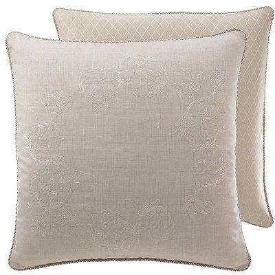 Croscill Ava European Sham, 26 By 26-Inch front-1064217