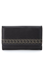 M&S Collection Knot Stitched Purse
