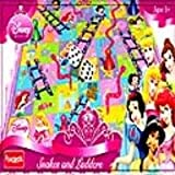 Disney Princess Snakes & Ladders Game 3 Years + Children