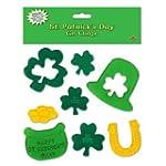 Beistle 33132 St. Patrick's Day Gel C...