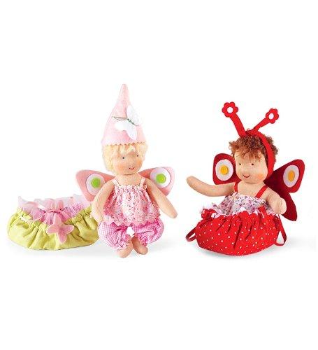 Kathe Kruse Mini It'S Me! Waldorf Fairy With Enchanting Felt Wings, Blonde front-976156