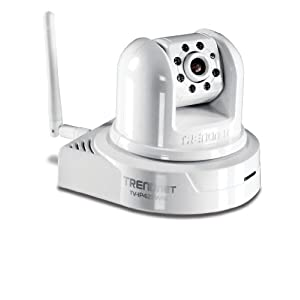 TRENDnet TV-IP422WN SecurView Wireless Day/Night Pan/Tilt/Zoom Internet Surveillance Camera