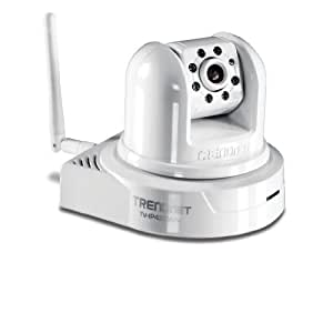 TRENDnet Wireless Day/Night Pan/Tilt/Zoom Internet Surveillance Camera, TV-IP422WN