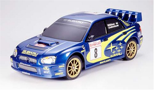 タミヤ 1/10 電動ラジオコントロールカー シリーズ インプレッサWRC2003