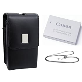 Canon Digital Elph Accessory Kit for Canon SD700 IS, SD800IS, SD850IS, SD900, SD950IS & SD870IS Digital Cameras